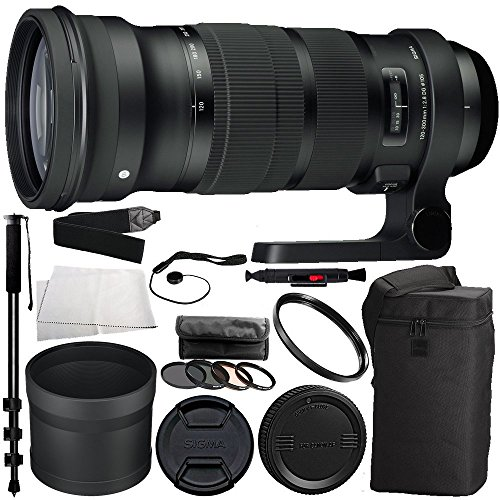 Sigma 120-300mm f/2.8 DG OS HSM Lens for Nikon Bun...