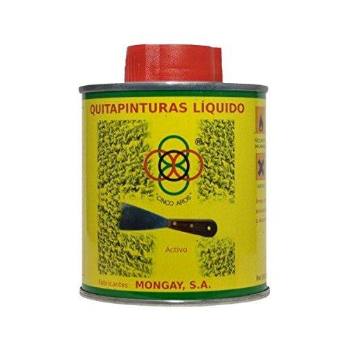 QUITAPINTURAS CINCO AROS 750 ml. mongay