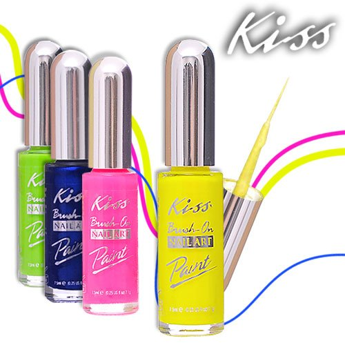 Amazon kiss nail artist manicure design kit gala beauty kiss nail art paint 025oz pa29 pearl blue prinsesfo Choice Image