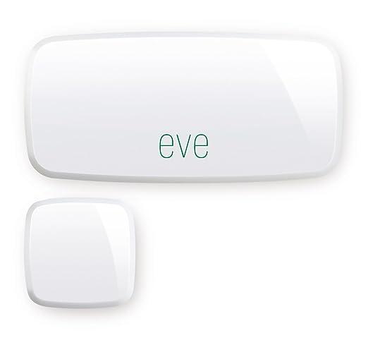 5 opinioni per Elgato Eve Door & Window Prima Generazione Sensore di Contatto Wireless,