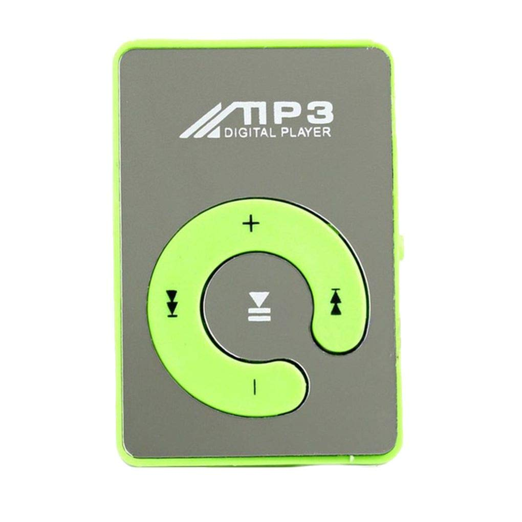 Amazon.com: Gankmachine Espejo Clip USB MP3 Player Sport ...