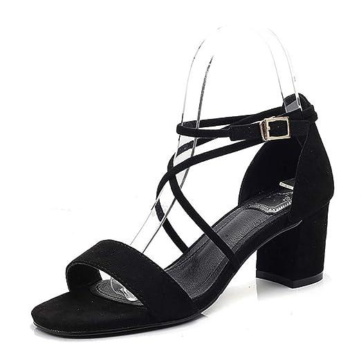 Sandalias de tacón Alto para Mujer, Atractivas con Tacones