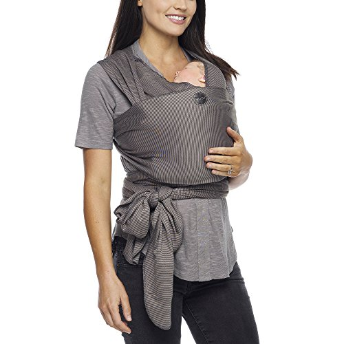 Moby Wrap Evolution Grey Stripes product image