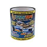 Titan Tape Rubberized Waterproof Tape, Stops Leaks Quickly, Size 4 Inches x 5 Feet