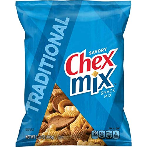 Chex Mix Traditional Snack, 30 Count