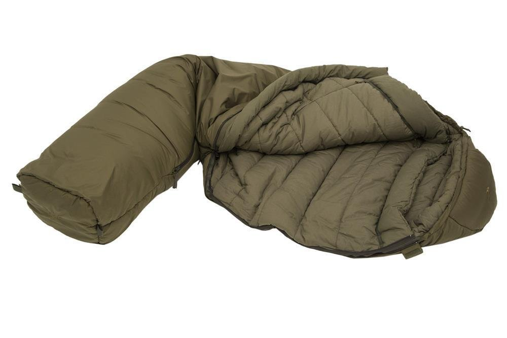Carinthia Wilderness Sleeping Bag Right Zip Olive