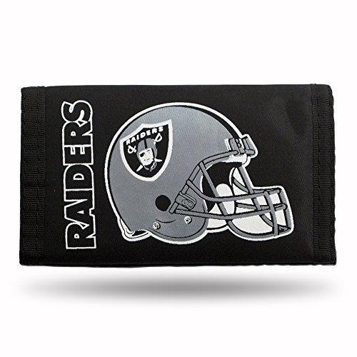 NFL Oakland Raiders Nylon Trifold Wallet