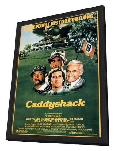 27 x 40 Framed Caddyshack Movie Poster by Movie Posters