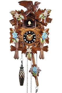 Traditional Cuckoo Wall Quartz Clock by Widdop Bingham Amazon
