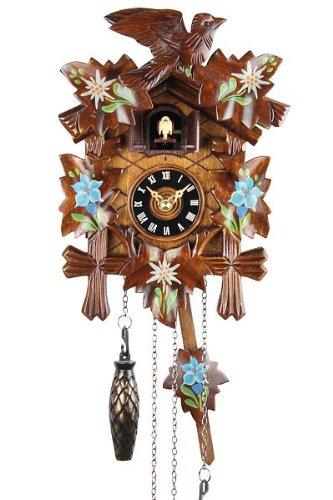 Selva NEGRA uhrenfabrik kammerer reloj de madera con mecanismo de pilas y cuco - oferta de relojes-Park Eble - Eble - Función de 22 cm - 8599001: Amazon.es: ...