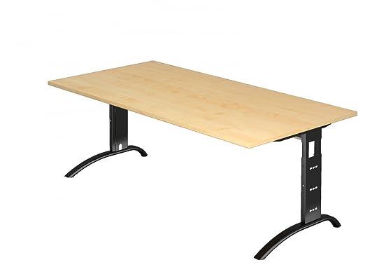 Escritorio Dr de oficina - Dimensiones 200 x 100 cm - estructura ...
