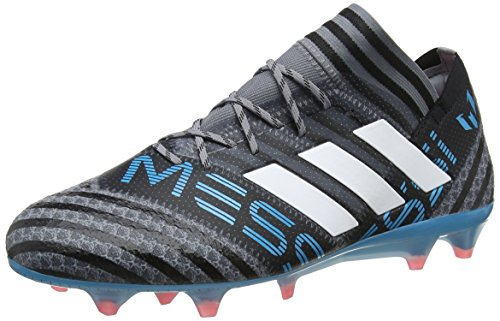 adidas Nemeziz Messi 17.1 FG, Scarpe da Calcio Uomo Grigio (Grey/Ftwwht/Cblack Grey/Ftwwht/Cblack)