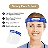 2 PCS Protective Face Shields, All-Round Protection