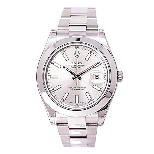 Rolex Datejust II automatic-self-wind mens Watch 116300 (Certified Pre-owned)