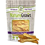 Nature Gnaws Chicken Jerky Strips 7 oz (25 to 30 pieces) - 100% Premium All-Natural Real Chicken Dog Chew Treats - Delicious & Healthy Snack - Made in USA