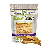 Nature Gnaws Chicken Jerky Strips for Dogs - 100% Premium All-Natural Real Chicken Breast Dog Treats - Delicious & Healthy Snack - Made in USA - 7 oz (25 to 30 pieces)