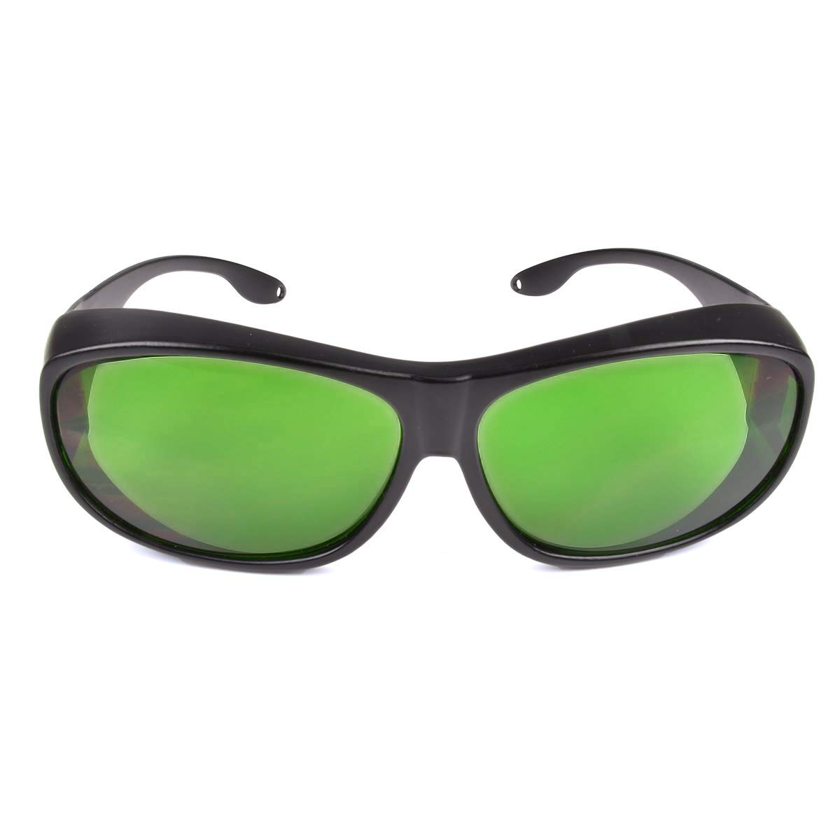IPL Laser Safety Glasses 190nm-2000nm Wavelength for Beauty & Cosmetology Eye Protection (Black) (Style 4)