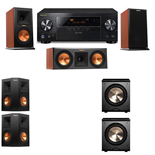 Klipsch RP-150M-CH Monitor Speaker 5.2 PL-200 Pioneer Elite VSX 80