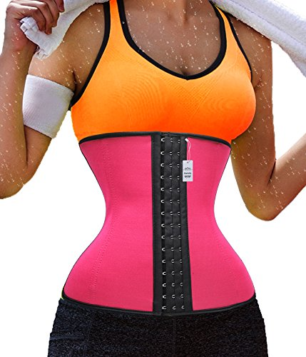 Gogoly Quick Weight Loss Waist Trainer Sport Hot Thermo Neoprene Sweat Shapers (S, Black)