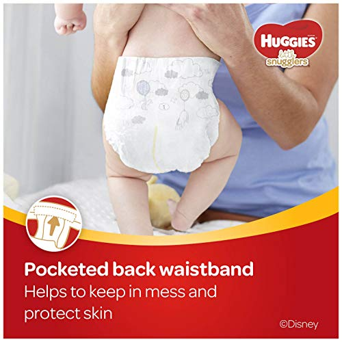 Huggies Little Snugglers Baby Diapers, Size Newborn (fits up to 10 lb.), 84 Ct, Giga Jr Pack (Packaging may Vary)