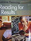 Reading for Results, Laraine Flemming and Ann Marie Radaskiewicz, 0618830790