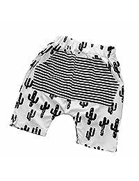 Baby Boys Girls Striped Elastic Waist Hot Bloomers Shorts