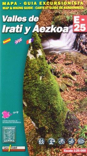 Descargar Libro Valles De Irati Y Aezkoa, Mapa Excursionista. Escala 1:25.000. Español, Français, English. Alpina Editorial. Vv.aa.