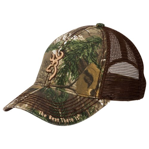 Browning 308367241 Bozeman Brown Cap, Realtree Xtra