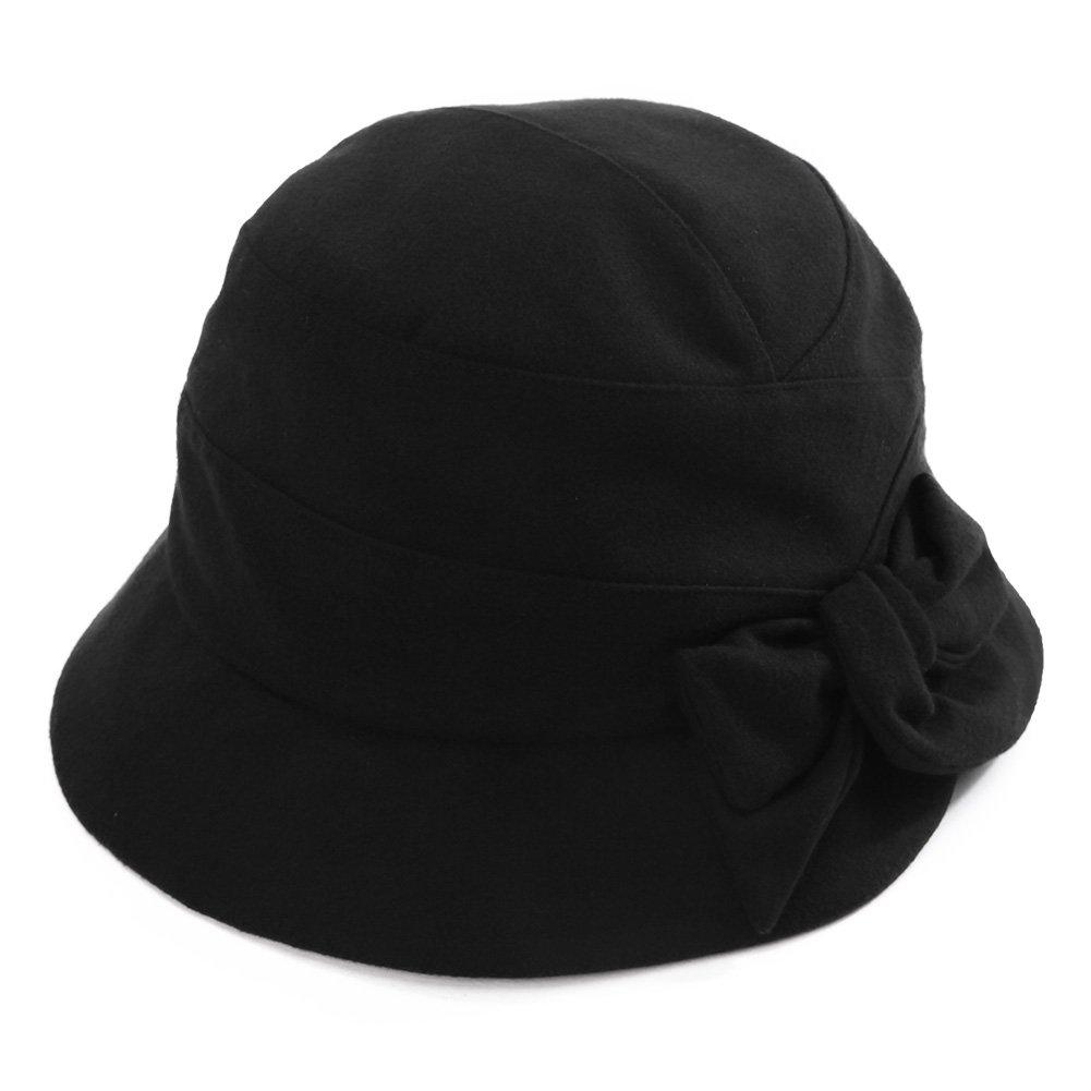 SIGGI Womens Cloche Bucket Hat 1920s Vintage Tea Party Hat Winter Fall Foldable CM89084-1