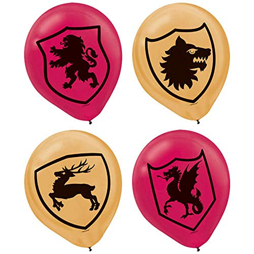 Medieval Latex Balloons (6ct) ()