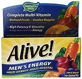 Alive Mens Enrgy Multivit Size 50ct Alive Mens Energy Multivitamin 50ct
