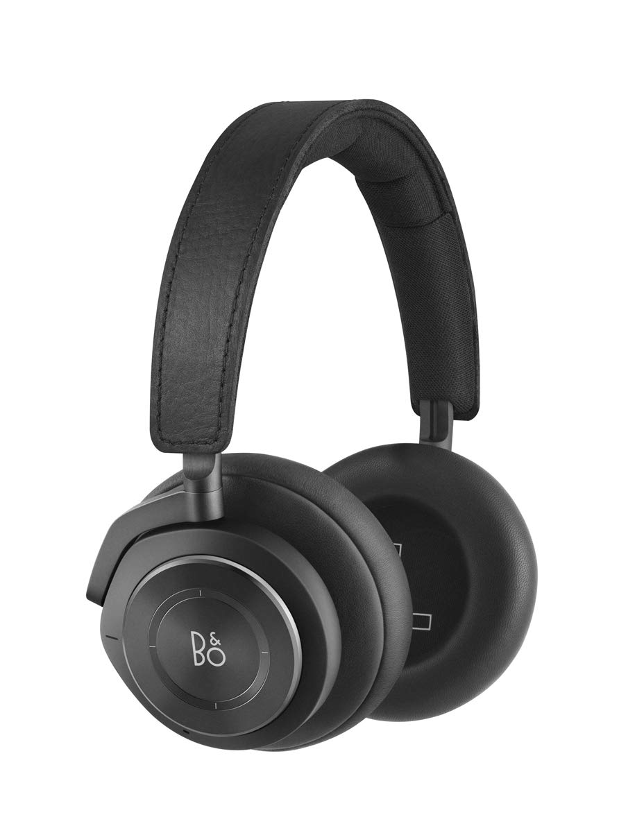 Criacr Bluetooth Headphones Over Ear, Soft Earmuffs, Built-in Microphone, Foldable Lightweight Wireless Headset with Hi-Fi Stereo, 3.5mm Audio Jack, for Mobile Phone, Tablet, TV, PC – Black