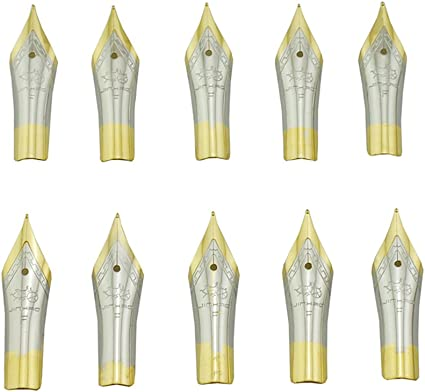 5 Medium 0.7mm Nib Only New Replacement// Spare Jinhao Stainless Steel No