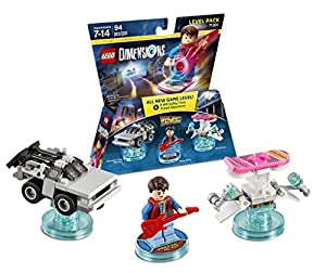 LEGO Dimensions Back to the Future Level Pk W/Marty Mcfly - by LEGO Dimensions