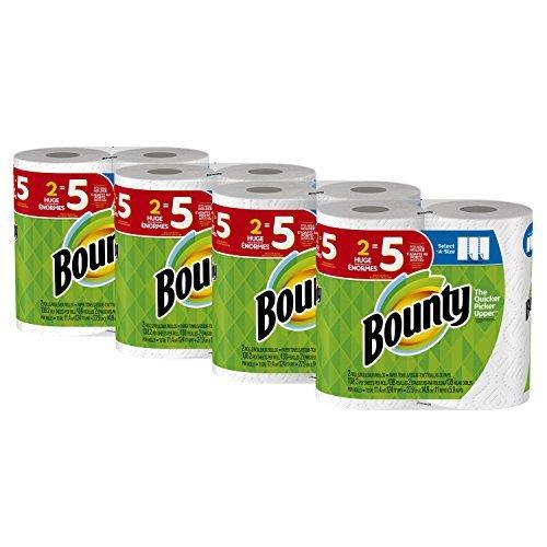 Bounty Select-A-Size Paper Towels White 8 Huge Rolls [並行輸入品] B07N4N4FXJ