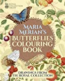 img - for Maria Merian's Butterflies Colouring Book book / textbook / text book
