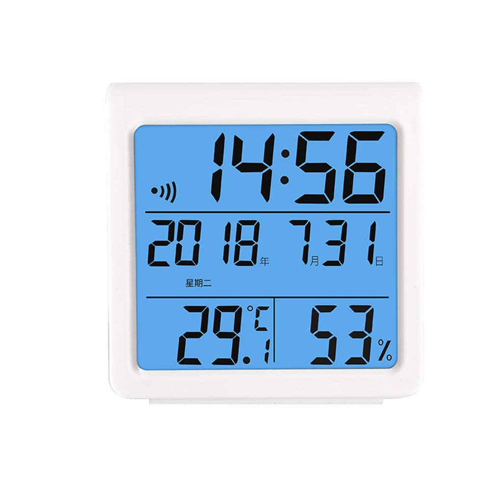 YTS Electronic Thermometer Hygrometer Home Indoor Precision Baby Room Wet and Dry Room Temperature Meter (Color : B)