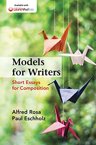 Models for Writers: Short Essays for Composition Pdf