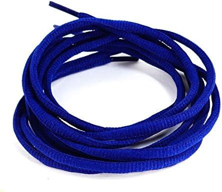 靴ひも(靴紐) シューレース 丸紐 青ブルー ETSR-612【105cm,SHOELACE,くつひも】
