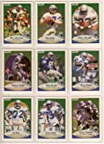Seattle Seahawks 1990 Fleer Football Team Set **Premier Issue** (Dave Kreig) (John L. Williams) (Kelly Stouffer) (Jacob Green) (Cortez Kennedy) and More