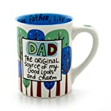 "Best Enesco Dad Mugs - Our Name is Mud ""Dad the Original"" Stoneware Review"