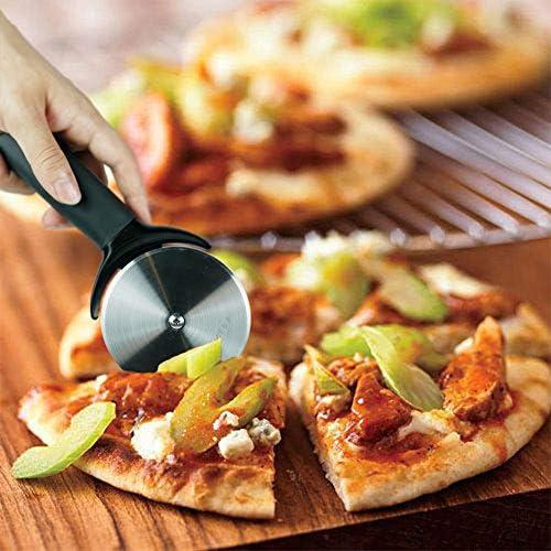 /è un buon assistente per cuochi e buongustai adatto per ristorante e cucina lama grande diametro per una facile soluzione per tagliare la pizza di spessore RANSENERS Rotella Tagliapizza