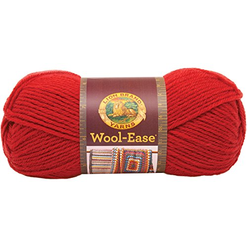 Yarn Ranch - Lion Brand Yarn 620-102B Wool-Ease Yarn, Ranch Red
