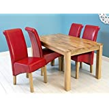 charter solid oak dining table butchers block table top design high quality oak baumhaus aston oak dining set