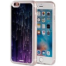 iPhone 6s Plus Case,iPhone 6 Plus Case,AIRWEE Clear Bumper Sparkle Meteor Rain Light Pattern Anti-Scratch Slim Soft TPU Back Protective Cover Case for Apple iPhone 6s Plus/6 Plus