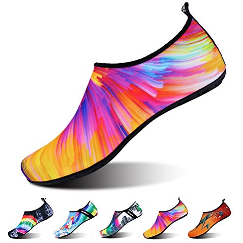 VOVOCAT Water Shoes for Men,Barefoot Skin Shoes Quick Dry Surf Beach Swimming Aqua Socks by VOVOCAT