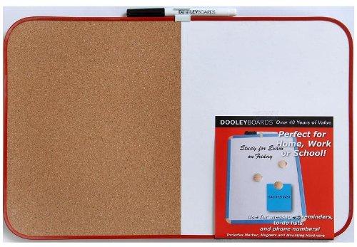 Dooley Boards Vinyl - Dooley Vinyl Framed Combo Board, 11 x 17 Inch, 1 Board (1117CO/MBV)