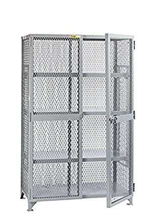 Little Giant SL3 A 3048 All Welded Storage Lockers, 3 Adjustable Center