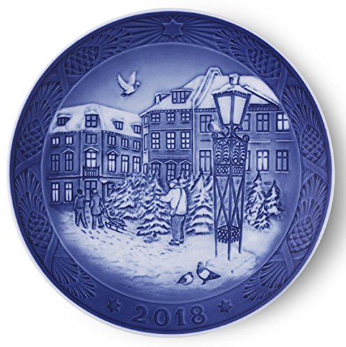 Christmas First Plate (Royal Copenhagen 1024792 Christmas Plate 2018)