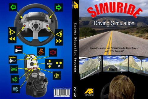SimuRide Professional Driving Simulator 1 Monitor Edition by Aplusbsoftware
